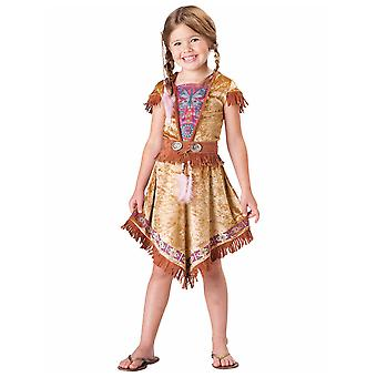 Indian Maiden Pocahontas Native American Book Week Dress Up Girls Costume