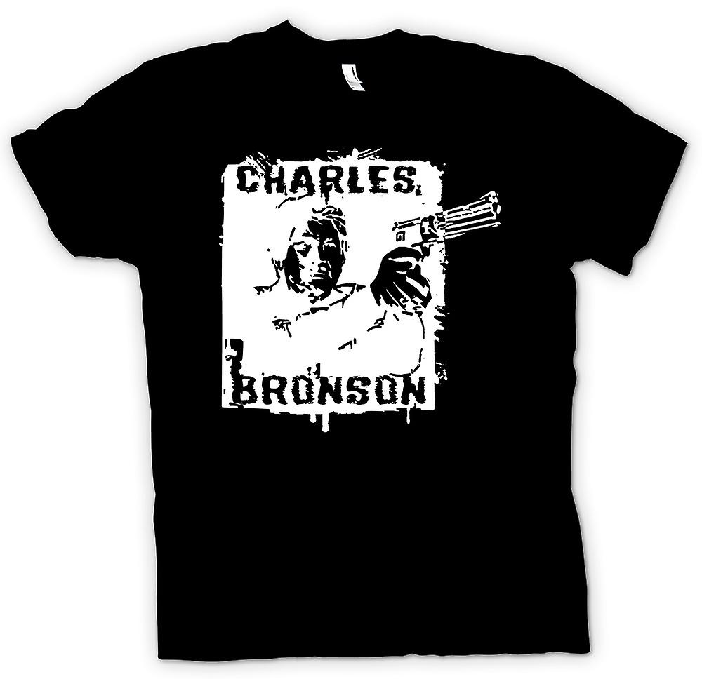 Mens T-shirt - Bronson - Death Wish Vigilante - Film