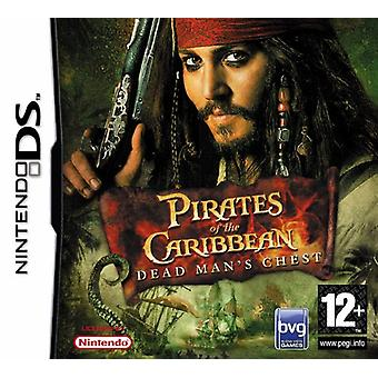 Pirates of the Caribbean Dead Mans poitrine (Nintendo DS)
