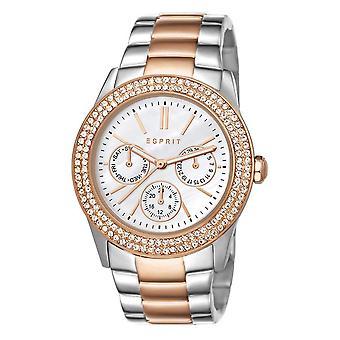 ESPRIT ladies watch wristwatch Peony stainless steel bicolor ES103822016