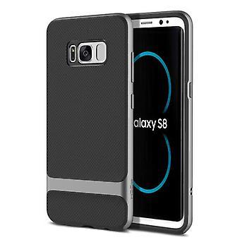 Original ROCK hybrid silicone case bag black / grey for Samsung Galaxy S8 plus G955 G955F