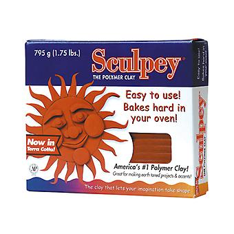 Sculpey origineel Polymer Clay 1,75 lb-Terra Cotta