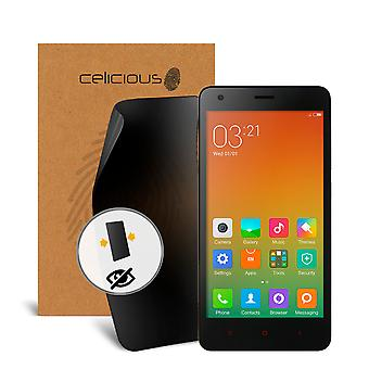 Celicious Privacy 2-Way Visual Black Out Screen Protector for Xiaomi Redmi 2