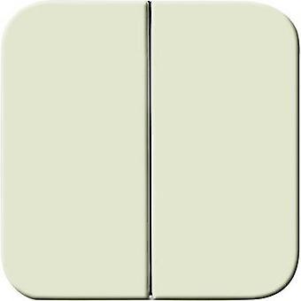 Busch-Jaeger Cover Series switch Duro 2000 SI, Duro 2000 SI Linear Cream-white