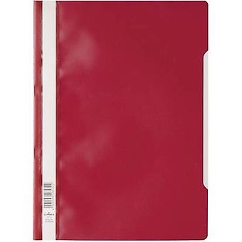 Durable Manilla folder 257302 Red A4