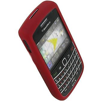 OEM Blackberry 9630 Tour, 9650 Bold, Silicone Gel Skin Case, Red