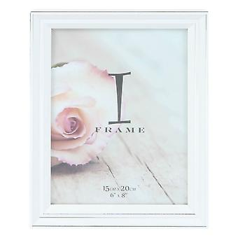 Juliana iFrame Large Photo Frame 6x8 - White/Silver