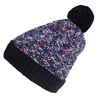 Womens/Ladies Bobble Texture Bobble Hat