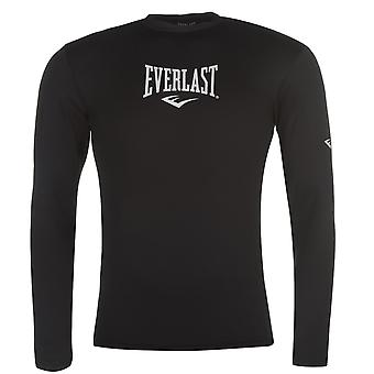 Everlast Mens Long Baselayer Top Compression Armor Thermal Skins Sleeve Round