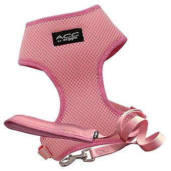 Arppe Harness and Leash ACC Pink (Dogs , Collars, Leads and Harnesses , Harnesses)
