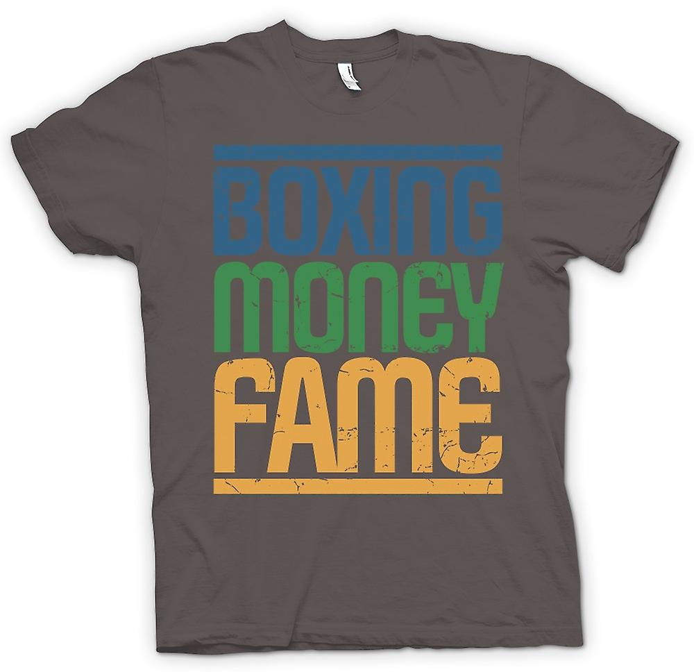 Mens T-shirt - Boxing - Money - Fame