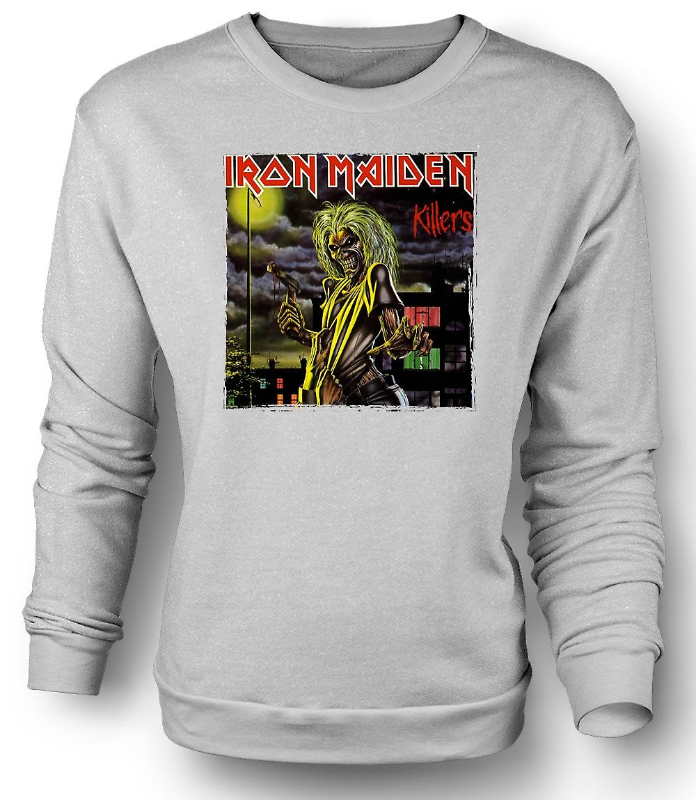 Mens Sweatshirt Iron Maiden - Killers Album Art