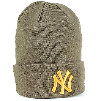 Neue Ära neue Olive-Buttersquash League wesentlichen Manschette New York Yankees Kids Beani