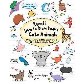 Kawaii - wie wirklich niedlichen Tiere zu zeichnen - zeichnen jedes Tierchen ich