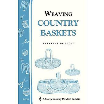 Weaving Country Baskets (Storey Publishing Bulletin, a-159)