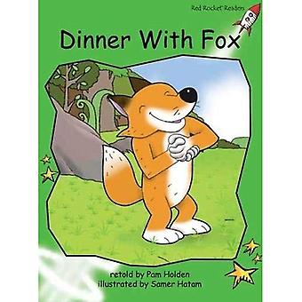 Dinner with Fox (Red Rocket Readers)