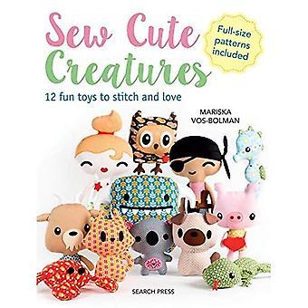 Naai de leuke schepselen - 12 leuk speelgoed aan Stitch en liefde