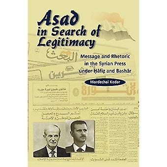 Asad in cerca di legittimazione: messaggi e retorica in siriana premere, 1970-2000