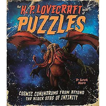 H P Lovecraft boken pussel: kosmiska gåtor från Beyond Infinity Svart hav