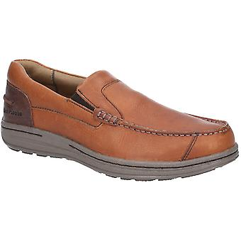 Hush Puppies Mens Murphy Victory Slip On Moccasin Shoes