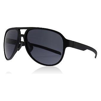 Adidas AD33 9000 Black Matt Pycer Pilot Sunglasses Lens Category 3 Size 58mm