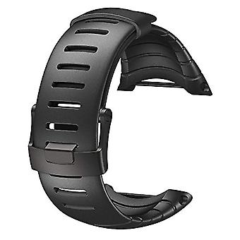Suunto Core all Black Standard Unisex strap, one size fits all