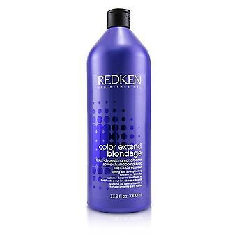 Redken color extender Blondage color-Depositing acondicionador (para rubias) 1000ml/33.8 oz