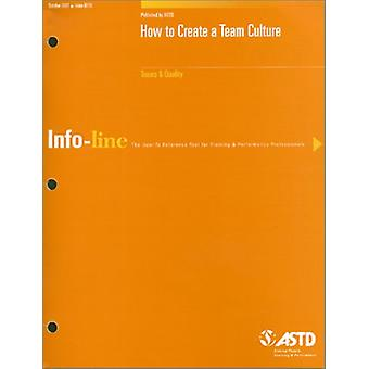 How to Create a Team Culture 250110 by Ed Rose - 9781562862763 Book