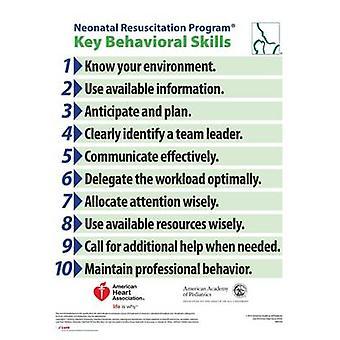 NRP Behavioral Skills Poster - 2016 by American Academy of Pediatrics
