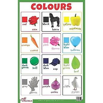 Colours Educational Chart by Pegasus - 9788131939031 Book
