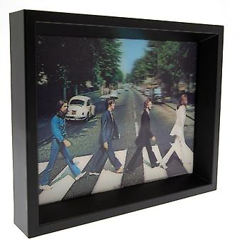 The Beatles Framed Abbey Road 3D Picture