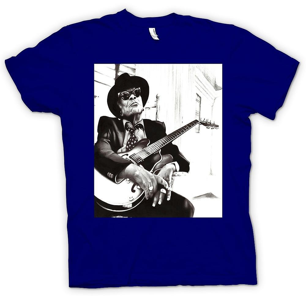 Womens T-shirt - John Lee Hooker - Blues