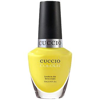 Cuccio Sweet As Sugar Nail Polish Collection 2015 - Lemon Drop Me A Line (6156) 13mL