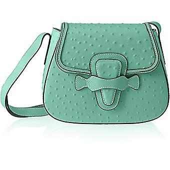 Chicca Bags 8616 Turquoise Women's Shoulder Bag (Marina) 25x20x9 cm (W x H x L)