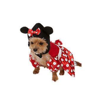 Dog Costume Minnie Mouse Novelty Funny Pet Fancy Dress