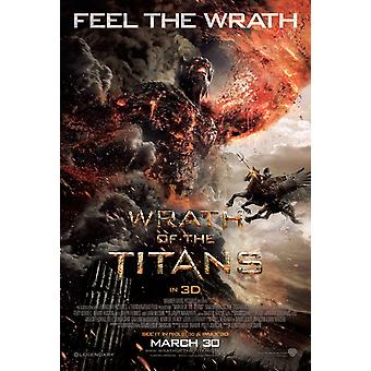 Wrath Of The Titans Poster Double Sided Regular (2012) Original Cinema Poster