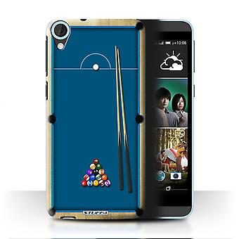 STUFF4 Case/Cover for HTC Desire 820s Dual/Pool/Billiards Blue/Games