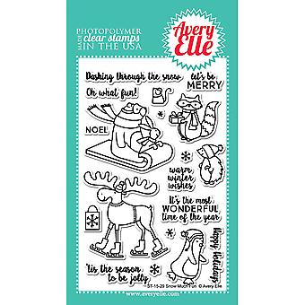Avery Elle Clear Stamp Set 4