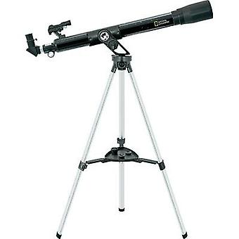 Refractor National Geographic 60/800 mm EQ Refractor Telescope Azimuthal Achromatic, Magnification 40 up to 600 x