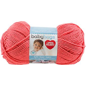 Coeur rouge bébé câlins Light-Peachie E403-3258