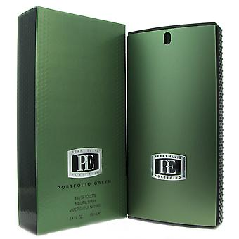 Portfolio Green per gli uomini di Perry Ellis 3.4 oz EDT Spray
