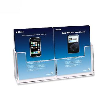 2 Pocket A6 Leaflet Holder - Counter Standing