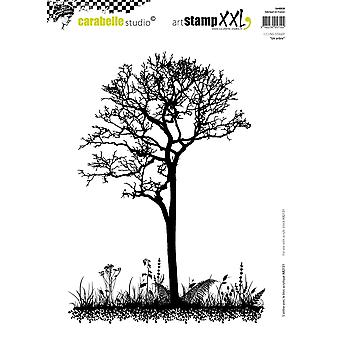 Carabelle Studio Cling Stamp XXL A4-A Tree SA40020