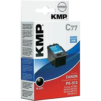 KMP Ink replaced Canon PG-510 Compatible Black C77 1511,4001
