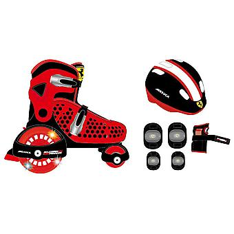 Ferrari In September inline skates with protectors R & B 30-33