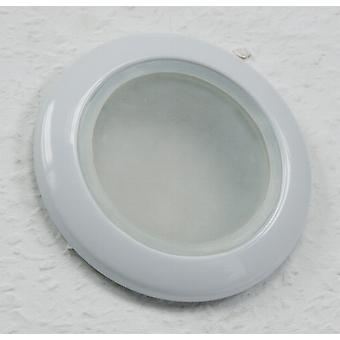 Cover - Recessed spotlights for damp rooms round Ø 92 mm IP 44 white