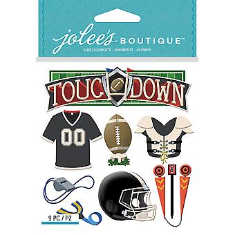 Jolee's Boutique Dimensional Stickers-Football E5021957