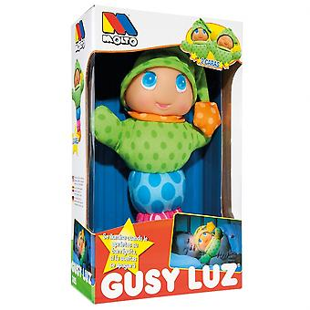 Molto Gusy Light Two Faces (Toys , Preschool , Dolls And Soft Toys)
