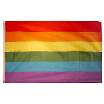 Henbrandt Large Gay Pride Flag 5ft x 3ft