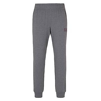 EA7 Evo Grey Marl Jersey Tracksuit Bottoms